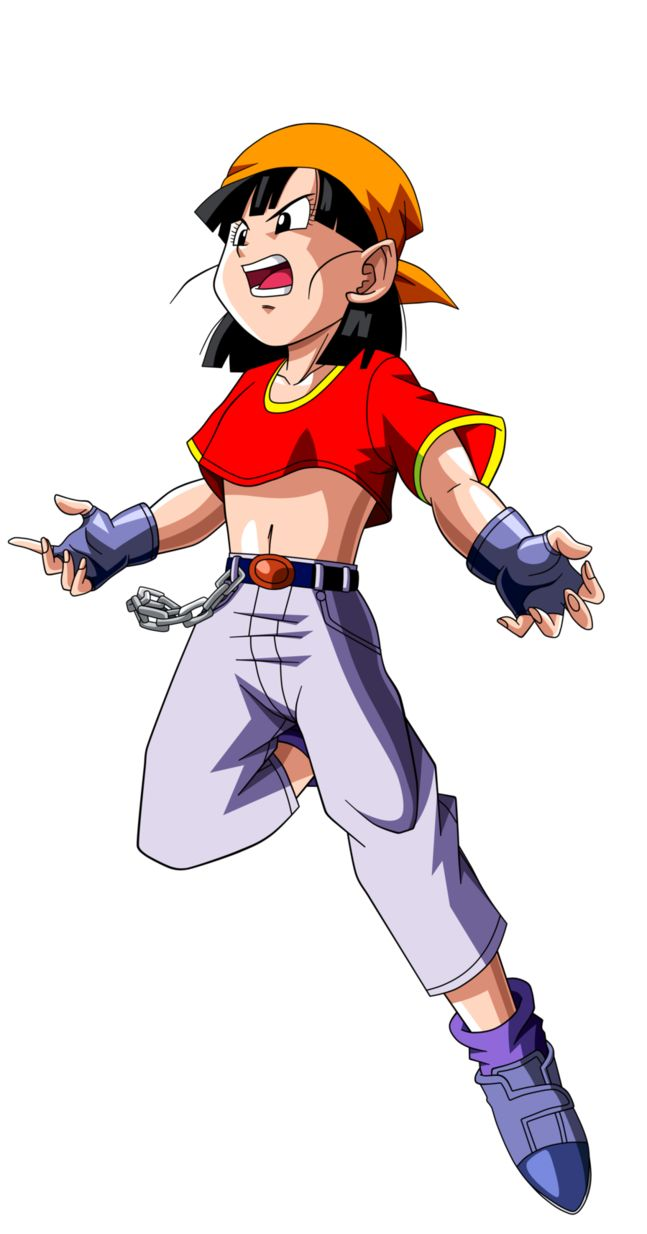 Dragon Ball GT =Pan v.10= by Krizeii on DeviantArt