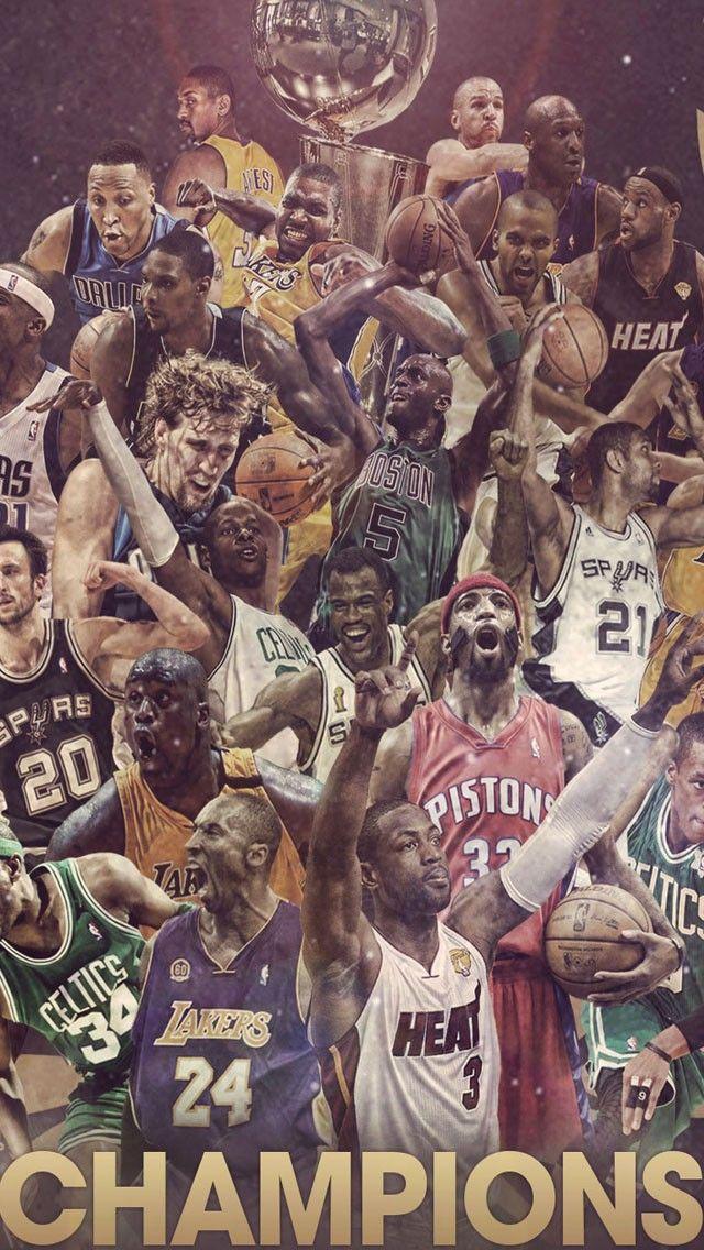 Nba Allstars Iphone 6 Hd Wallpaper Fondos De Deportes Jugadores De Baloncesto Basquet