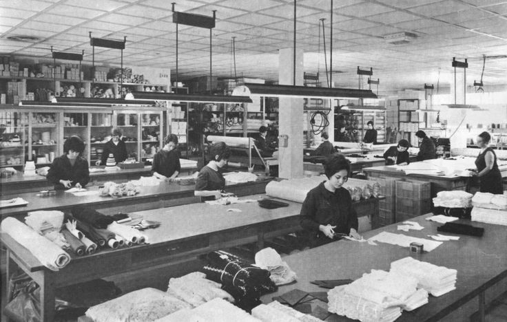 La Perla working space in 1964.