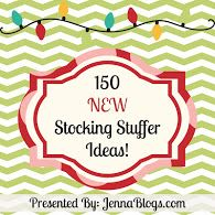 150 NEW Stocking Stuffer Ideas for Everyone! --- There is another set of 150 on this blog for a total of 300 stocking stuffers!!!!!!!! #stocking #stuffer