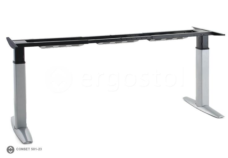 Раздвижная рама с электро-приводом 501-23 для столов с регулируемой высотой на 2 опорах