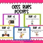 These FREEBIE Whole Brain Teaching Class Rules posters are based off the Whole Brain Teaching rules by Chris Wiffle.  I have changed the wording so...