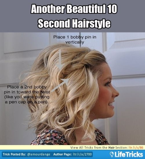 1000+ images about Hairstyles- Hacks, Tricks, and Tips on Pinterest ...