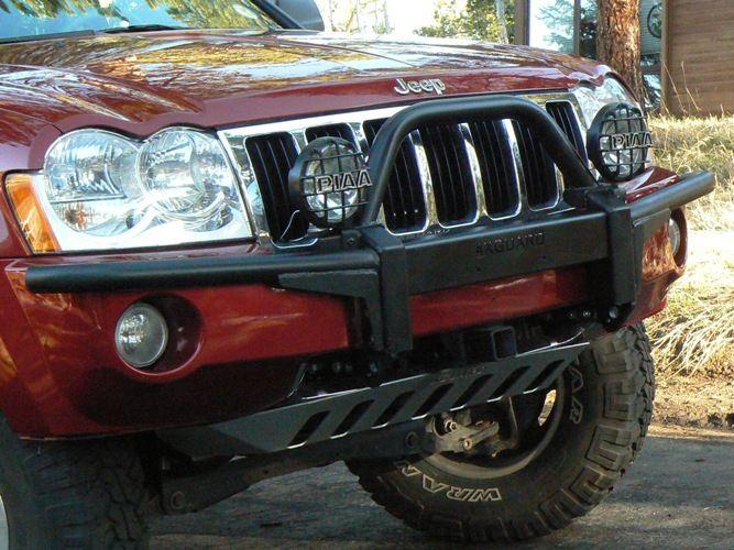 Jeep Grand Cherokee WK brush guard