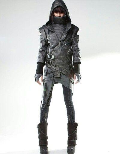 Character/Dark type, element/ Stealth/Kunai, dagger/ Demobaza
