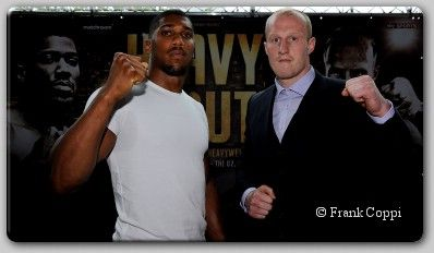 Undefeated Heavyweights Joshua, Cornish Meet Face To Face - Anthony Joshua MBE and Gary Cornish came face-to-face for the first time today, ahead of their clash for the vacant Commonwealth Heavyweight title at The O2 on Saturday September 12, live on Sky Sports. Joshua is in the process of turning The O2 into a hometown fortress having made his debut...- http://www.saddoboxing.com/46083-anthony-joshua_gary-cornish.html