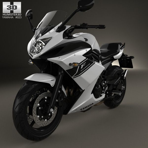 Yamaha XJ6 Diversion F 2014 3d model from Humster3D.com