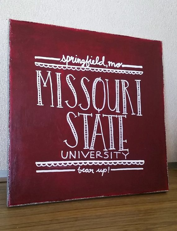 Custom University canvas handmade 12x12 by GreaterJoyDesigns  Direct link to my roommates page available to buy!