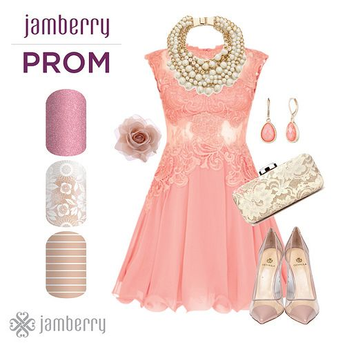 Prom - Lace & Pastels   by Jamberry Home Office