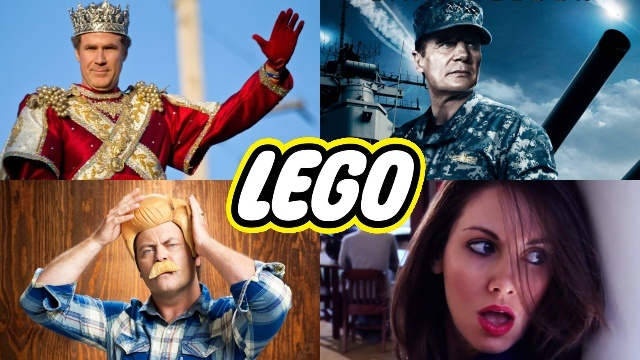 Уилл Феррелл, Лиам Нисон, Элисон Бри и Ник Офферман озвучат персонажей Lego