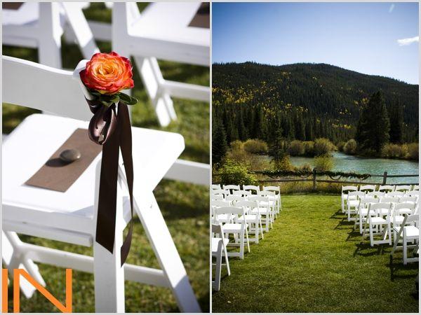 Ski Tip Lodge wedding ceremony