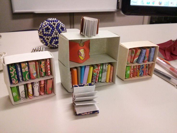 Origami Folding Bookshelves Best Shelves Images On Pinterest