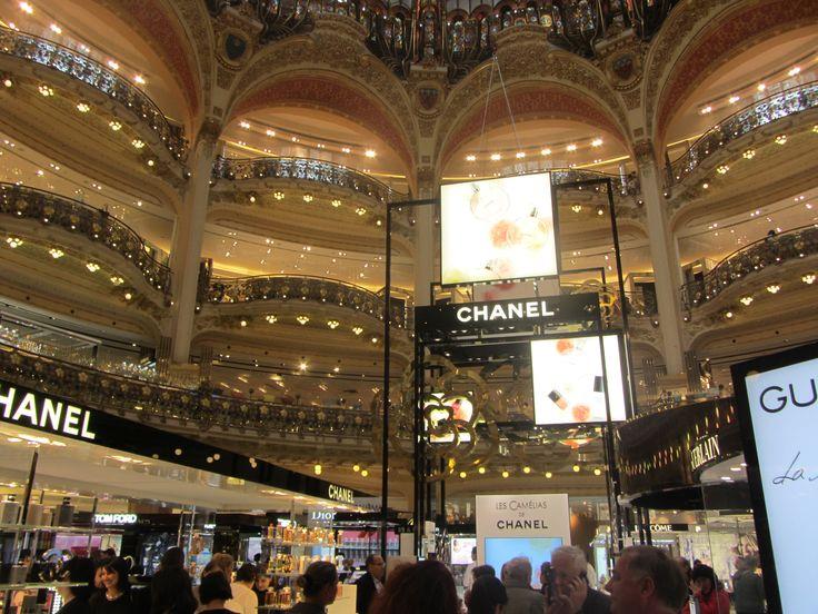 Vueltita por Galerías Lafayette