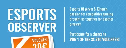 Kinguin and Esports Observer Giveway