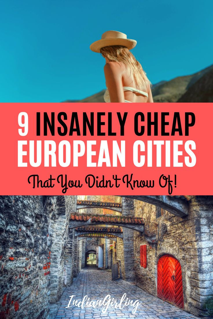 9 Insanely Low-cost European Cities