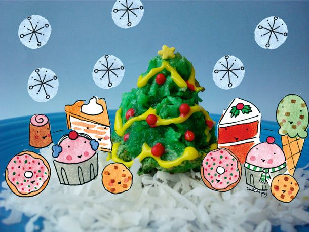 Christmas Tree Coconut MacaroonsTrees Coconut, Christmas Recipe, Macaroons Christmas, Christmas Cookies, Trees Macaroons, Coconut Macaroons, Christmas Treats, Christmas Trees, Macaroons Recipe