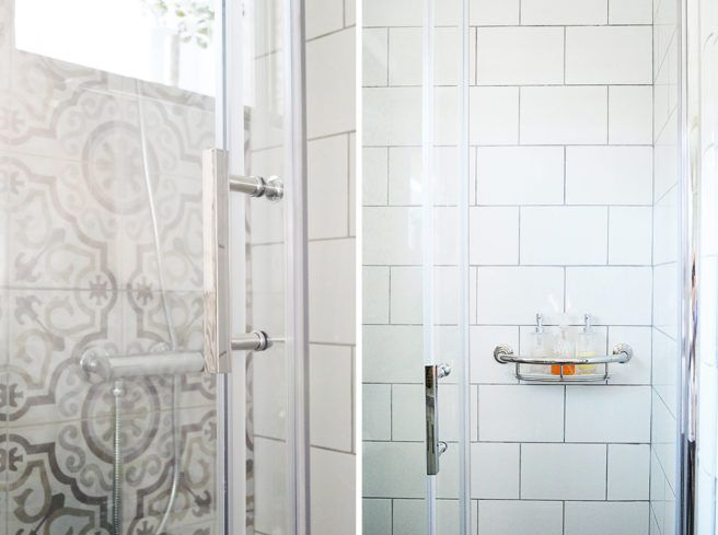 Decoración de baño bohemio