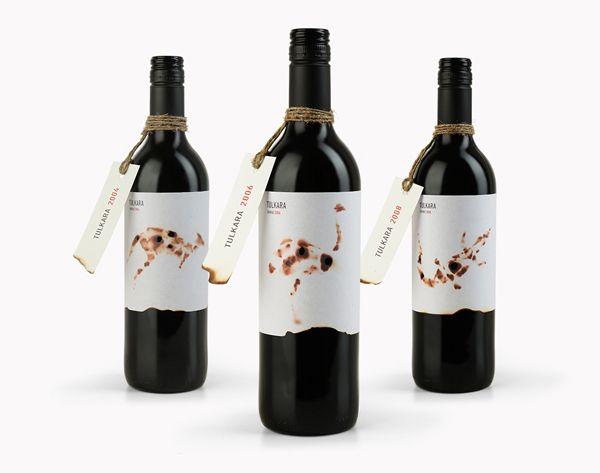 Australian shiraz wine label – Tulkara