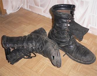 Кожаные ботинки заплесневели что делать
