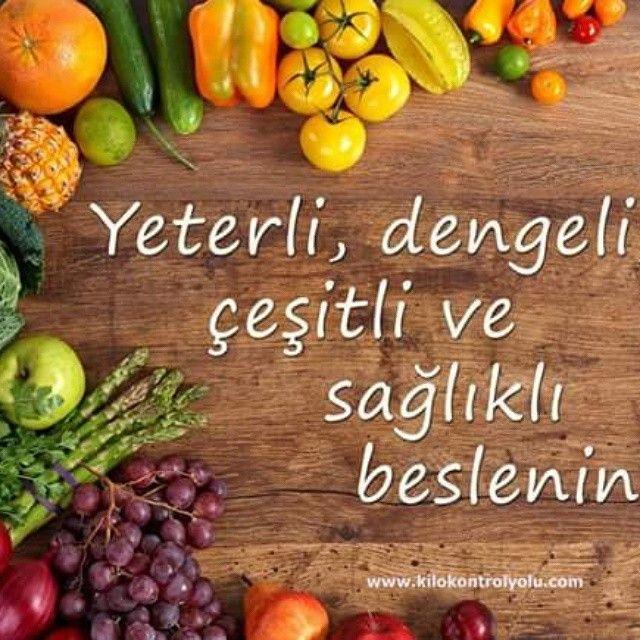 Yeterli, dengeli, sağlıklı ve moral yükseltici bir beslenme için sürekli bir iki besin türü tüketmek yerine değişik tür besinlerden az miktarlarda tüketin. Bilgi için 05388665890 arayarak ulaşabilirsiniz. #kilokontrol #beslenme #zayıflamak #diyet #kilo #spor #sağlık