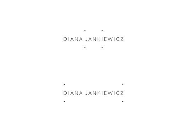 Diana Jankiewicz by UVMW , via Behance