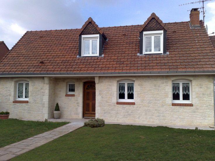 Donnez un effet rustique à votre maison en utilisant l'enduit Decopierre®, qui recrée un aspect pierre !