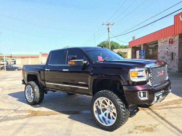 2015 GMC Sierra Denali 1500 lifted | New trucks, Gm trucks ...