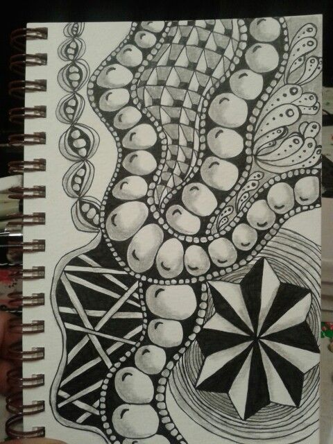 Just another fun tangle