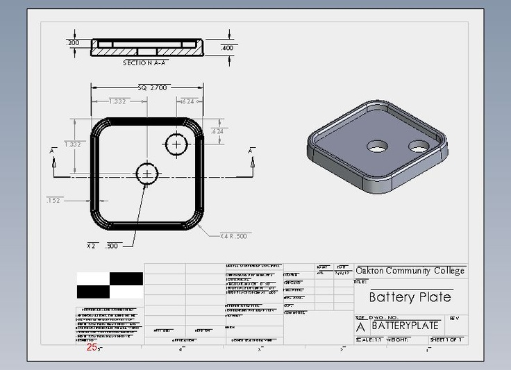 Flashlight Assembly Battery Plate for 12 Volt