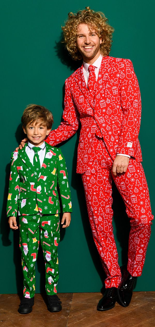 11f75e34d5f3a Best Christmas family outfits with the suits from OppoSuits | Family Christmas  outfits | Ugly christmas sweater suit, Christmas suit, Family christmas ...