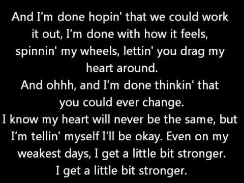 SWINGIN UTTERS - I'M A LITTLE BIT COUNTRY LYRICS