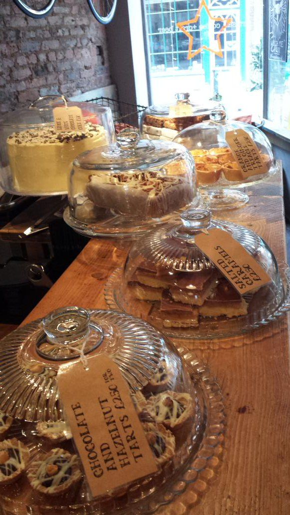 Our Lemon & White Chocolate Cake especially for the Fossgate Social! We're passionate about making sure York gets good chocolate & cake!