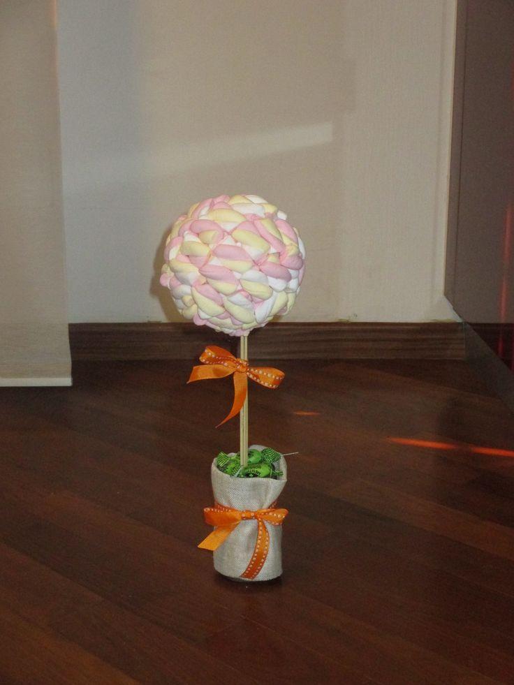 Alberino di marshmallow - bimbi party