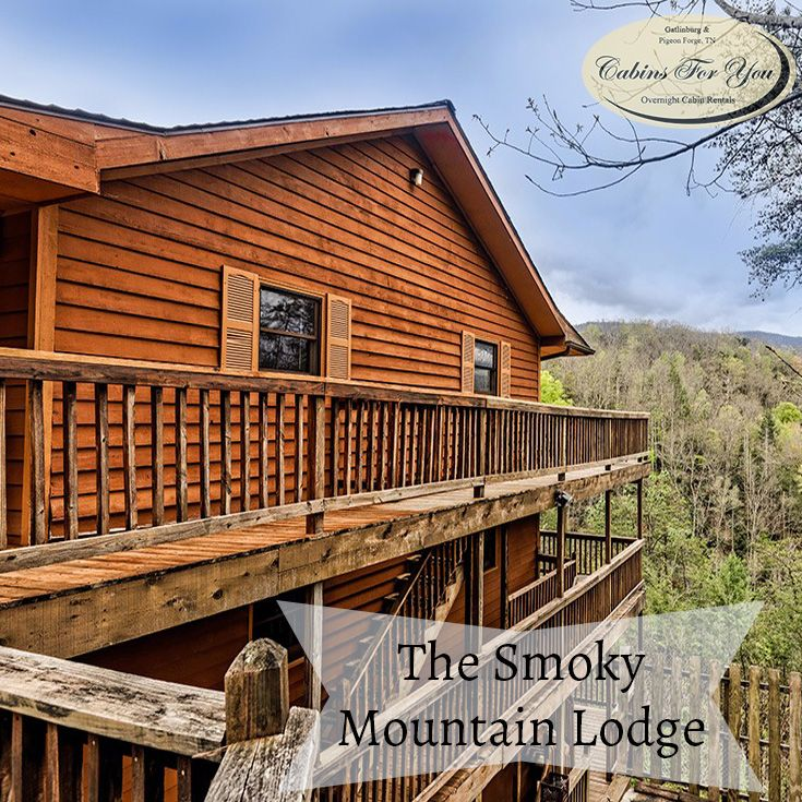 When You Stay At The Smoky Mountain Lodge, Only 9 Miles From Downtown  Gatlinburg, Youu0027ll Get Both! Find This Pin And More On Large Group Cabins  ...