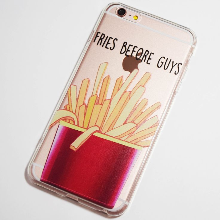 Fries Before Guys iPhone 6 Plus / 6S Plus Soft Case