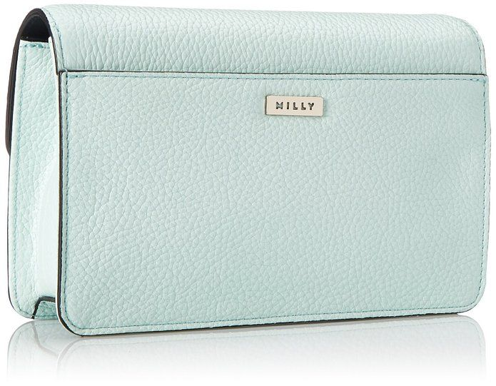 MILLY Astor Mini Crossbody Bag, Mint, One Size: Handbags: Amazon.com