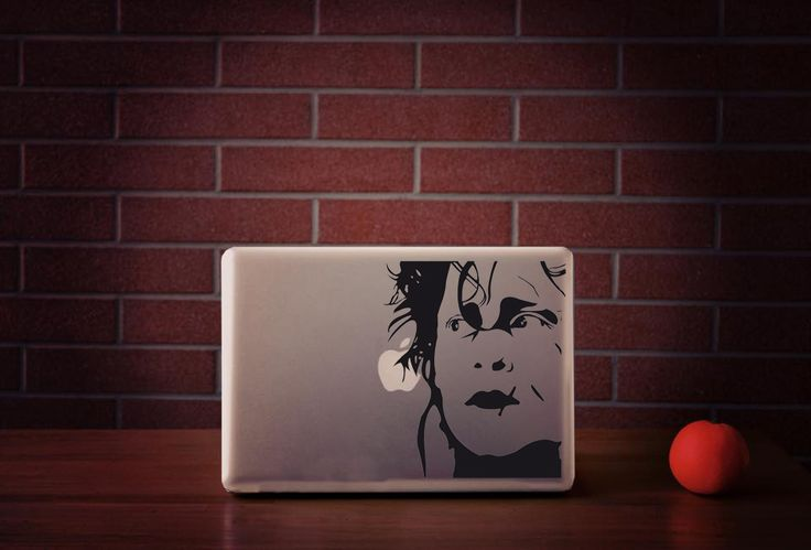 Edward || MacBook sticker || our online store: www.etsy.com/it/shop/PasteITsticker || our facebook page: https://www.facebook.com/pasteit.it || #pasteit #sticker #stickers #macbook #apple #blackandwhite #art #drawing #custom #customize #diy #decoration #illustration #design #technology #computer #pc #censored #concept #idea#movie #quote #words #lettering #minimalist #decal #skin #cover #laptop #character #edward #scissorhands #edwardscissorhands #timburton #cinema