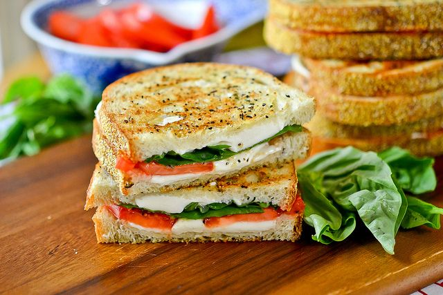 Grilled Margherita Sandwiches | Flickr - Photo Sharing!