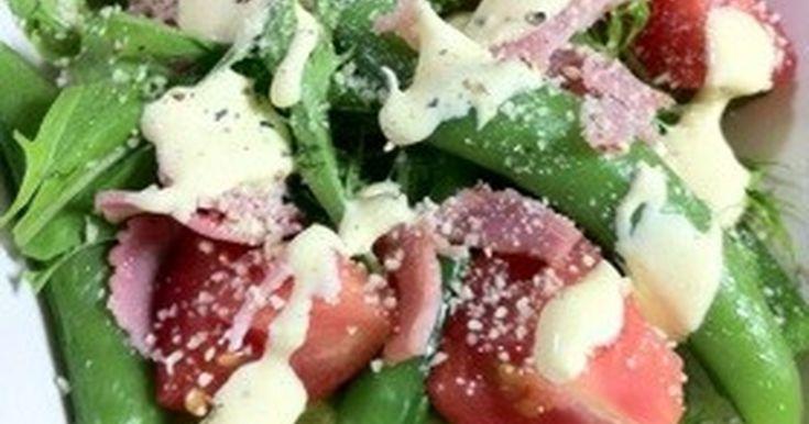 お家の材料でシーザーサラダのドレッシングが手軽に出来ます☆サラダがいっぱい食べれちゃいますo(^▽^)o