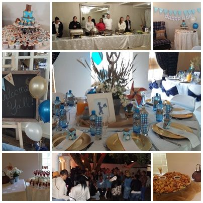 Baby Shower in the Chrystal room @ Villa Maria Guest Lodge