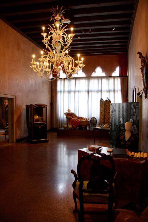 Ca' Centani : il portego di Casa Goldoni a Venezia