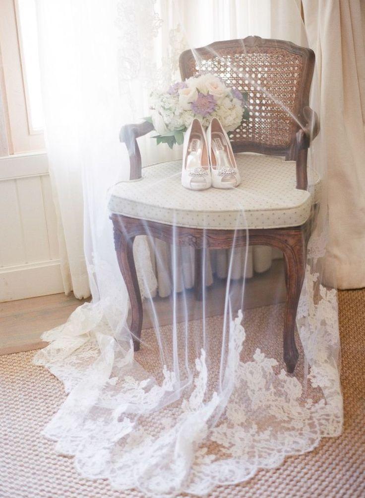 Фата невесты | Школа свадебных идей.
