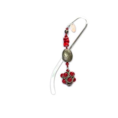 Azur Jewelry tibetan bookmark  http://www.ebay.com/itm/BOOKMARK-Tibetan-spacer-pyrite-coral-Silver-plated-shepherd-hook-/270978554895?pt=LH_DefaultDomain_0=item3f17949c0f#ht_500wt_1413