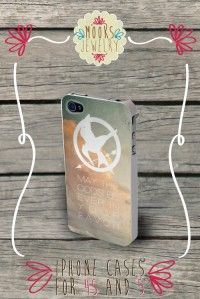 hunger games iphone case
