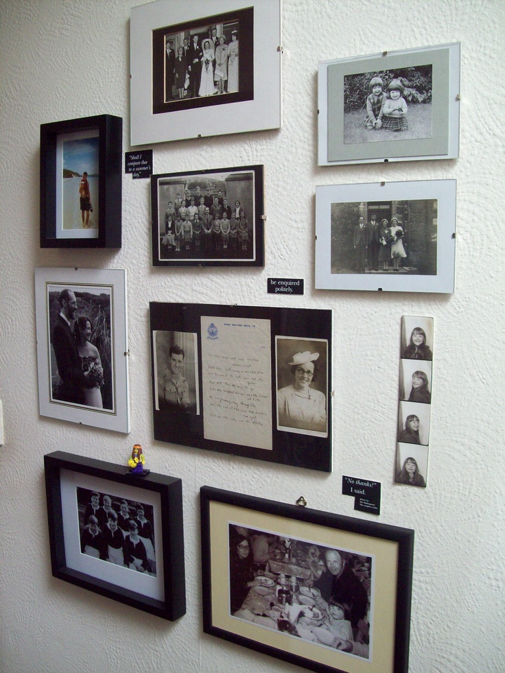 The family wall