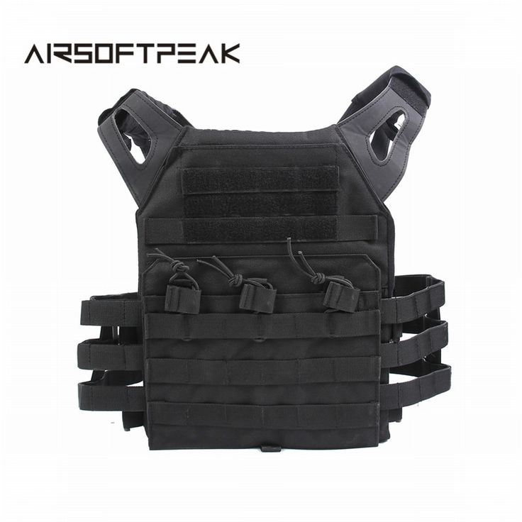 JPC Tactical Vest Simplified Version Military Wargame Chest Rig