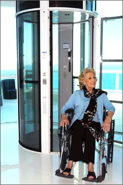 86 best images about universal design on pinterest for Wheelchair accessible house plans with elevator