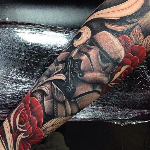 Stormtrooper Sleeve by Craig Holmes