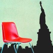 Naklejka nr 1809 - Statua Wolności, Nowy Jork