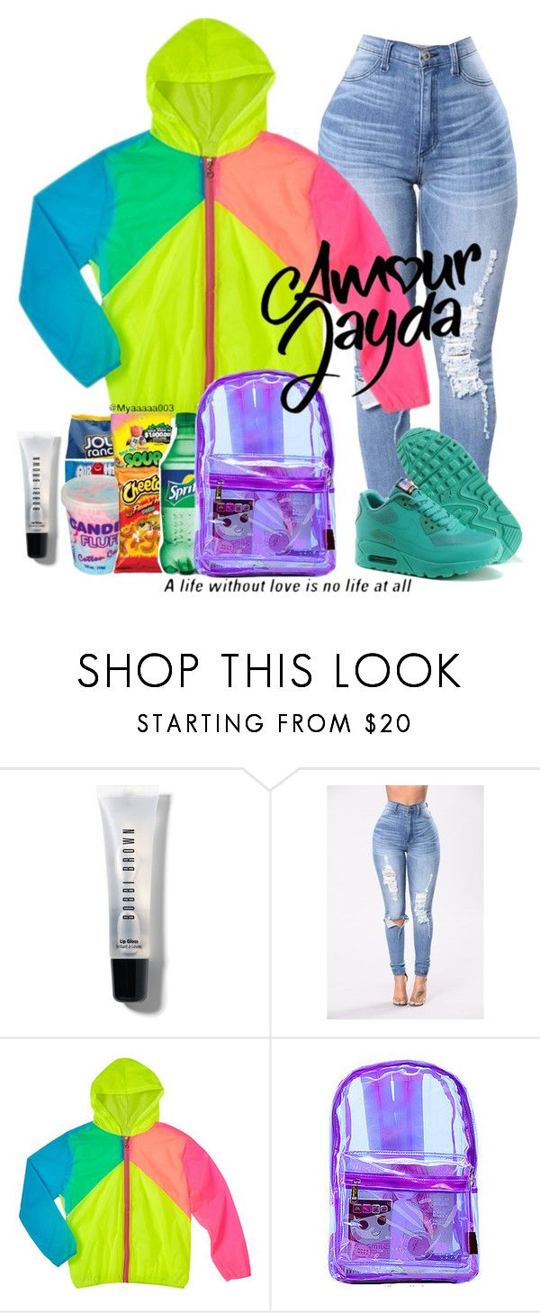 """""""Candy Girl"""" by rihababy on Polyvore featuring Bobbi Brown Cosmetics and NIKE"""